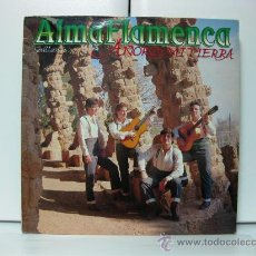 Discos de vinilo: ALMA FLAMENCA - AÑORO MI TIERRA - LP RCA 1988 BPY. Lote 29700299