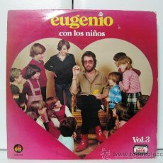 Discos de vinilo: EUGENIO - CON LOS NIÑOS VOL.3 - LP EDI-MASTER 1980 BPY. Lote 32444592