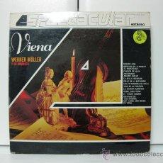 Discos de vinilo: WERNER MÜLLER Y SU ORQUESTA - VIENA - LP TELEFUNKEN 4 FASES 1982 BPY. Lote 32834607