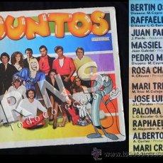 Discos de vinilo: DISCO DE VINILO LP JUNTOS HISPAVOX MÚSICA RAPHAEL BERTÍN OSBORNE MASSIEL JUAN PARDO PERALES M. TRINI. Lote 29706591