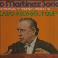 Discos de vinilo: LP-TE CASAS A LOS 60...Y QUE-PACO MARTINEZ SORIA-GM 474-1976. Lote 29711359