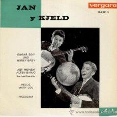 Discos de vinilo: JAN Y KJELD - HELLO MARY LOU - PICCOLINA +2 - EP SPAIN 1963 - EX / EX . Lote 29711578