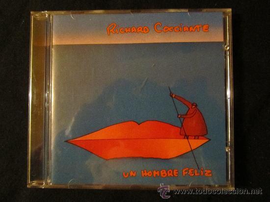 CD. DE RICHARD COCCIANTE. -NUEVO- ESPAÑOL- TITULO UN HOMBRE FELIZ CON MINA Y MONICA NARANJO (Música - Discos - LP Vinilo - Canción Francesa e Italiana)