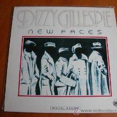 Discos de vinilo: DIZZY GILLESPIE - NEW FACES - 1985 - IMPORTACIÓN USA - GRP RECORDS - GRP 91012. Lote 31099586