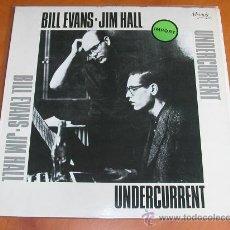 Discos de vinilo: LP - BILL EVANS - JIM HALL - UNDERCURRENT - 1987 - USA MEMOIR. Lote 31281408
