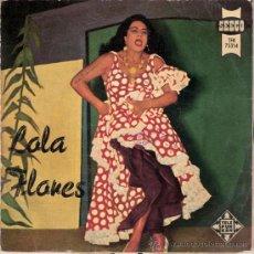 Discos de vinilo: LOLA FLORES - AY ESPAÑA, ESPAÑA MIA + 3 (EP DE 4 CANCIONES) TELEFUNKEN 1958 - VG+/VG+. Lote 29718815