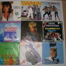 Discos de vinilo: LOTE Nº10.- 9 SINGLES VARIOS ARTISTAS Y GRUPOS AÑOS 70-80 EXCELENTE ESTADO, OFERTA. VER INFORMACION. Lote 166058437