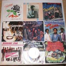 Discos de vinilo: LOTE 15.- 9 SINGLES VARIOS ARTISTAS SOUL FUNK DANCE AÑOS 70-80 EXCELENTE ESTADO, OFERTA. + INFORM. Lote 29722594