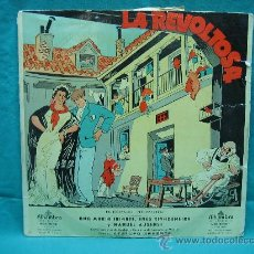 Discos de vinilo: LP ZARZUELA. LA REVOLTOSA. Lote 29847616