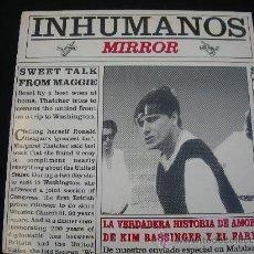 Discos de vinilo: MAXI LOS INHUMANOS // LA VERDADERA HISTORIA DE AMOR DE KIM BASSINGER Y EL FARY. Lote 29737909