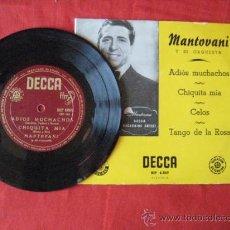 Vinyl-Schallplatten - DISCO MAXI SENCILLO. MANTOVANI. . ENVIO GRATIS¡¡¡ - 29742826