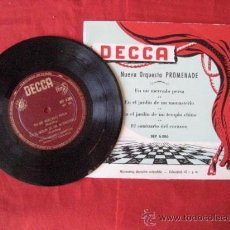 Discos de vinilo: DISCO MAXI SENCILLO. NUEVA ORQUESTA PROMENADE. . ENVIO GRATIS¡¡¡. Lote 29742834