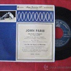 Discos de vinilo: DISCO MAXI SENCILLO. ORQUESTA JOHN PARIS. . ENVIO GRATIS¡¡¡. Lote 29742848