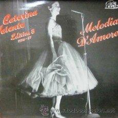 Discos de vinilo: CATERINA VALENTE - EDITION 8 1956-57 - MELODIA D'AMORE - 1987 . Lote 29745500