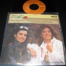 Discos de vinilo: BACCARA - COLORADO / MUCHO , MUCHO ( DISCO ALEMAN ). Lote 29746194