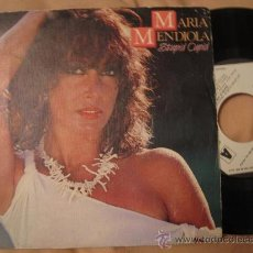 Discos de vinilo: MARIA MENDIOLA - ( DUO BACCARA ) STUPID CUPID / THE TIME OF YOUR LIFE - PROMO ESPAÑOL. Lote 29747876