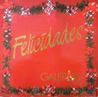 ISABEL PANTOJA, EL FARY, CARLOS CANO, ROCÍO JURADO... LP PUBLICITARIO GALERÍAS PRECIADOS - 1986 (Música - Discos - LP Vinilo - Flamenco, Canción española y Cuplé)