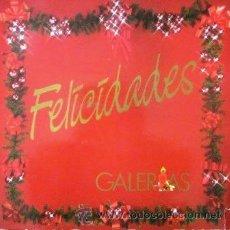 Discos de vinilo: ISABEL PANTOJA, EL FARY, CARLOS CANO, ROCÍO JURADO... LP PUBLICITARIO GALERÍAS PRECIADOS - 1986. Lote 29749917