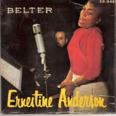 Discos de vinilo: ERNESTINE ANDERSON - MY MAN + 3 (EP DE 4 CANCIONES) BELTER 195? - VG++/VG++. Lote 29750703