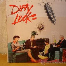 Discos de vinilo: DIRTY LOOKS - TURN OF THE SCREW. Lote 29757052