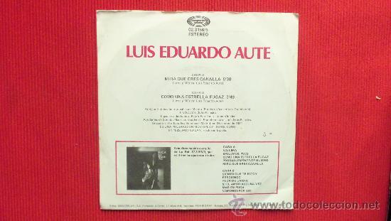Discos de vinilo: LUIS EDUARDO AUTE - Foto 2 - 29829412