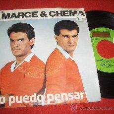 """Discos de vinilo: MARCE Y CHEMA NO PUEDO PENSAR/VIVE 7"""" SINGLE 1979 REFLEJO . Lote 29759858"""
