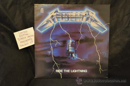 METALLICA - RIDE THE LIGHTNING (DIRECT METAL MASTERED 2 X LP) (Música - Discos - LP Vinilo - Heavy - Metal)