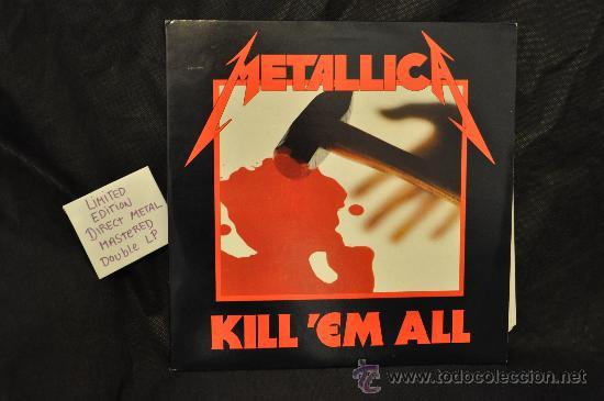 METALLICA - KILL 'EM ALL (DIRECT METAL MASTERED 2 X LP) (Música - Discos - LP Vinilo - Heavy - Metal)