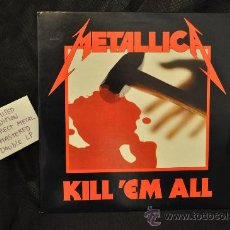 Discos de vinilo: METALLICA - KILL 'EM ALL (DIRECT METAL MASTERED 2 X LP). Lote 29762260