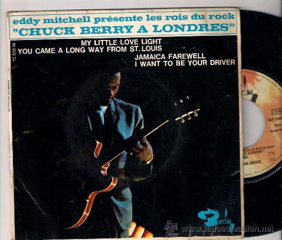EP CHUCK BERRY A LONDRES: MY LITTLE LOVE LIGHT + JAMAICA FAREWELL +2 (Música - Discos de Vinilo - EPs - Pop - Rock Extranjero de los 50 y 60)