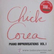 Discos de vinilo: CHICK COREA - PIANO IMPROVISATIONS VOL. I - 1979 (EXCELENTE ESTADO). Lote 29767966