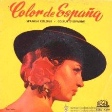 Discos de vinilo: COLOR DE ESPAÑA - EP DE 6 CANCIONES CON LIBRETO DE 8 PÁGINAS - 1959 - EXCELENTE CONSERVACIÓN. Lote 29768984
