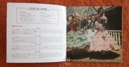 Discos de vinilo: COLOR DE ESPAÑA - EP DE 6 CANCIONES CON LIBRETO DE 8 PÁGINAS - 1959 - EXCELENTE CONSERVACIÓN - Foto 3 - 29768984