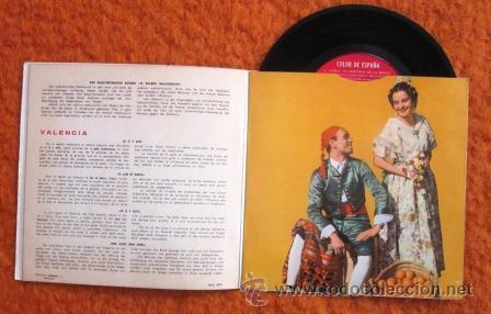 Discos de vinilo: COLOR DE ESPAÑA - EP DE 6 CANCIONES CON LIBRETO DE 8 PÁGINAS - 1959 - EXCELENTE CONSERVACIÓN - Foto 4 - 29768984