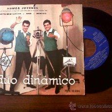 Discos de vinilo: SINGLE DUO DINAMICO-SOMOS JOVENES-LA VOZ DE SU AMO 1962. Lote 29769564