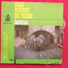 Discos de vinilo: CORO MINERO DE TURON. Lote 29829254
