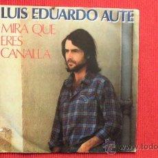 Discos de vinilo: LUIS EDUARDO AUTE. Lote 29829412