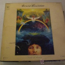 Discos de vinilo: GERARD LENORMAN, DROLES DE CHANSONS, LP 33 CBS HOLLAND, PORTADA DOBLE. Lote 29777001