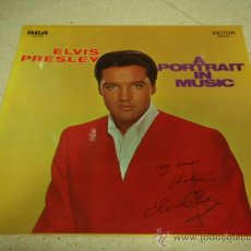 Discos de vinilo: ELVIS PRESLEY ( A PORTRAIT IN MSIC ) GERMANY LP33 RCA RECORDS. Lote 29788386