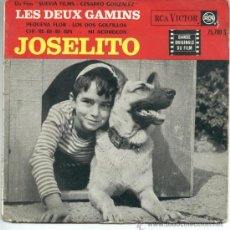 """Discos de vinilo: JOSELITO – DU FILM LES DEUX GAMINS – PEQUEÑA FLOR – LOS DOS GOLFILLOS – 196? – EP 7"""" FRANCIA. Lote 29789139"""