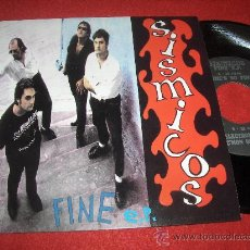 "Disques de vinyle: SISMICOS SHE'S SO FINE / ELECTRONIC VICIOUS / C'MON & LOVE ME 7"" EP 1994 ANIMAL GARAGE ROCK ESPAÑOL. Lote 29789346"