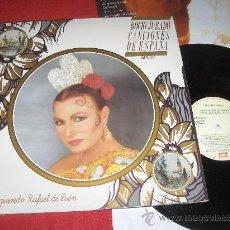 Discos de vinilo: ROCIO JURADO CANCIONES DE ESPAÑA (INEDITAS) A RAFAEL DE LEON LP 1988 EMI. Lote 29790539