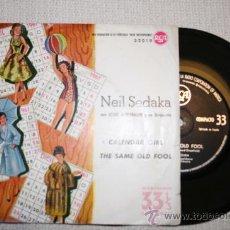 Discos de vinilo: NEIL SEDAKA - SINGLE 33 RPM EDICION ESPAÑOLA 1961. Lote 29791043