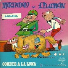 Discos de vinilo: MORTADELO Y FILEMON EP SELLO COLUMBIA AÑO 1971 CON TBO 6 PAGINAS.. Lote 29792462