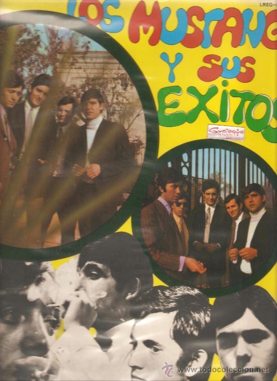 LP EXITOS DE LOS MUSTANG (TEMAS DE THE BEATLES , THE MOVE , PAUL SIMON, THE TURTLES, ETC) (Música - Discos - LP Vinilo - Grupos Españoles 50 y 60)