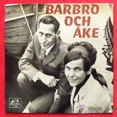 Discos de vinilo: BARBRO OCH AKE - DISCO DE SUECIA. Lote 29800054