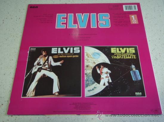 Discos de vinilo: ELVIS PRESLEY ' ELVIS ' 1973 - GERMANY LP33 RCA RECORDS - Foto 2 - 29800164