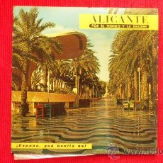 Discos de vinilo: ALICANTE POR EL SONIDO Y LA IMAGEN - 1966. Lote 29800599