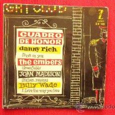 Discos de vinilo: DANNY RICH - THE EMBERS - JOAN MADISON - BILLY WADE. Lote 29801846