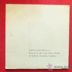 Discos de vinilo: JOSE MARIA PEMAN - LA HISTORIA DEL BUEN REY. Lote 29804305
